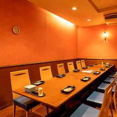 新鮮魚と旬菜の天ぷら酒場 渦しお 中洲店の雰囲気1