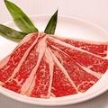 料理メニュー写真黒毛和牛 炙りカルビ(タレ・塩)