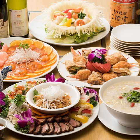 昔ながらの中華屋さん。定番メニューからコース料理まで豊富です!