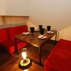 個室を超えるプライベート空間♪3Fにあるロフト席はお客様だけの空間に♪隠れ家の雰囲気を楽しみながらプライベートな空間をお楽しみ頂けます!