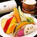 料理メニュー写真いろいろ野菜のバーニャカウダー