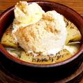 料理メニュー写真ティラミス/モンブラン/焼きリンゴ&バケットアイス
