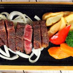 料理メニュー写真特上ロースステーキ 150g