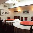 20名様まで対応可能な円卓個室席をご用意しております。周りを気にせずゆっくりとご宴会をお楽しみ下さい。