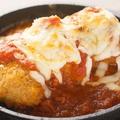 料理メニュー写真ライスボールトマトチーズ焼
