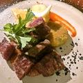 料理メニュー写真黒毛和牛ステーキ(120g)