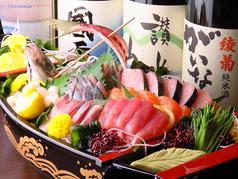 瀬戸内鮮魚と讃岐牛。 威風 イフのコース写真