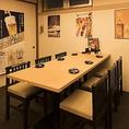 飲み会やお食事にもピッタリのお席◎和空間の店内で、自慢の鶏料理をお召し上がりください☆小岩での宴会をお探しでしたら是非、とりいちず小岩北口店へ!