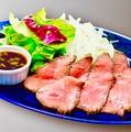 料理メニュー写真低温でじっくりと仕上げたコールドビーフ ~柚子胡椒ソース~