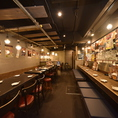 活気のある店内でこだわりの焼き鳥・水炊きを堪能できる、鶏料理専門居酒屋です。経堂エリアでの飲み会に是非ご利用ください。