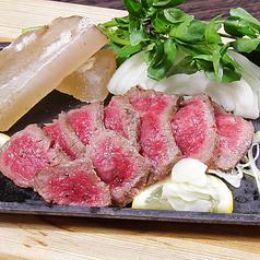 料理メニュー写真The おおいた 豊後牛『頂』の温タタキ