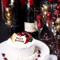 誕生日ケーキプレゼント♪