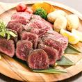 当店こだわりの肉料理は素材の旨みを最大限に活かした調理でご用意します。更に!お得に当店自慢のお肉料理をご堪能いただけるよう、3時間飲み放題付120分ローストビーフ食べ放題プランをご用意♪お肉好きのお客様は是非お試しください!