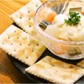料理メニュー写真クリームチーズとピクルス