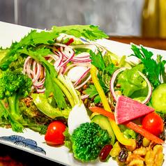 料理メニュー写真26品目の彩り健康サラダ~たっぷり野菜で体も元気~