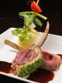 料理メニュー写真仔牛肉のカツレツ