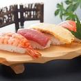 【ディナー限定】お寿司とローストビーフをご提供!!是非お召し上がりください♪※画像は一例です