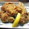 料理メニュー写真若鶏の唐揚げ(中盛り・5貫)