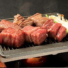 料理メニュー写真牛ロースカットステーキ