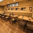 ◆宴会のご予約可能◆40名様までのご宴会が出来るお席です!お得な2h飲み放題付きコース2200円(税抜)~ご用意◎