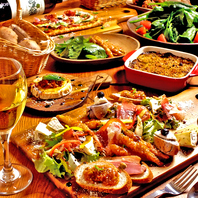 旬の魚や有機野菜など季節を楽しめるイタリア料理