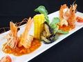 料理メニュー写真ニューカレドニア産天使の海老のチリソース