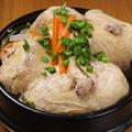 料理メニュー写真自家製サムゲタン
