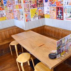 5~6名様におすすめのテーブル席