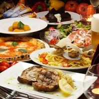 ナポリピッツァ&食事が美味しいカジュアルイタリアン♪