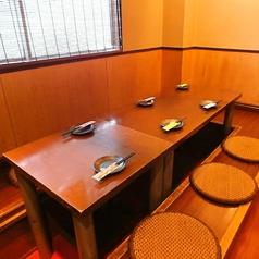 堀ごたつ式テーブルは2~14名様までOK