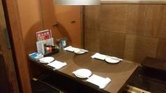 周りを気にせずゆっくりお食事できる個室は人気!