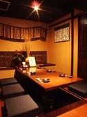 会社帰りや仲間との飲み会などプライベートにも使える個室です。