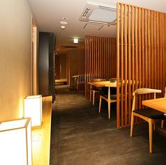 大人の落ち着いた空間で長崎和牛をお楽しみください。