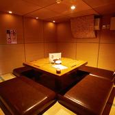 接待利用で人気の個室。他のお客様を気にせずゆったりとお食事を楽しめます。2~8名様でご利用可能。