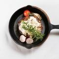 料理メニュー写真自家製ハンバーグステーキ~デミグラスソース~
