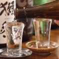 日本全国から集めた焼酎&地酒が自慢♪