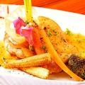 料理メニュー写真シェフ特製ソースの若鶏のソテー