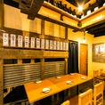 【 ぶっちぎり酒場 渋谷店の テーブル席 】2名様~6名様◎柔軟性のあるテーブル席ならお客様の人数に合わせてご案内いたします。ぶっちぎりのコスパ★いつでもハッピーアワー!渋谷の宴会,飲み会,二次会に是非!ご予約大歓迎!