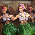 みんなが必ず笑顔になれる!誕生日のお祝いや記念日のシーンにも大好評!【月曜日~金曜日】19:30/21:00【土】19:00/20:30【日・祝】18:30/20:30 ハワイアン空間で一緒に踊って、非日常体験をお楽しみください!みんなで素敵な時間を過ごしましょう♪