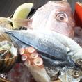 海産物に恵まれた明石の魚介を使用♪