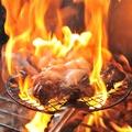 料理メニュー写真薩摩赤鶏炭火焼