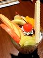 料理メニュー写真茶店のフルーツパフェ