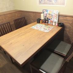 4名様用個室テーブル席