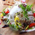 料理メニュー写真何種類!?いろいろ入ったメランジェチョレギサラダ