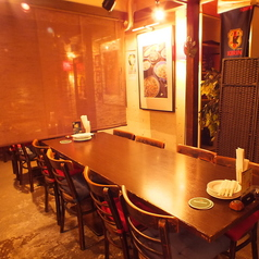 【B1 テーブル席】広々としたテーブル席でご宴会♪