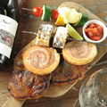 料理メニュー写真ロデオ特製シュラスコ 豚肩ロース スパイスソースマリネ