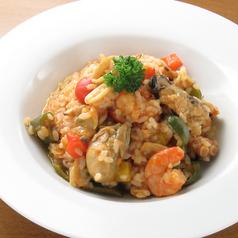 シーフードリゾット|Seafood Risotto