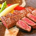 料理メニュー写真和牛焼き鉄板 サーロイン 100g/ヒレ 100g(お肉は50g単位で増やすことができます)