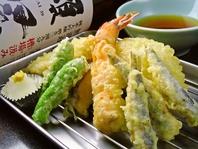 大人気!さくさくの天ぷら 150円~