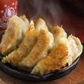 料理メニュー写真旨汁あふれる鉄板焼餃子 (4ヶ)